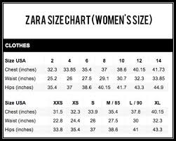 Zara Outerwear Size Chart Zara Size Chart Related Keywords Suggestions Zara Size