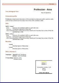 Functional Cv Template - Bradfordpa.us