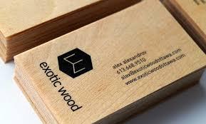 wooden business cards wooden business cards for exotic wood ottawa idapostle