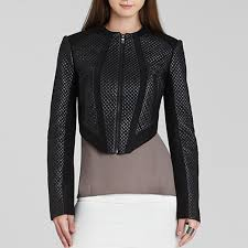 BCBGMAXAZRIA Hansen Quilted Faux Leather Jacket | Rank & Style & Best Faux Leather Jackets - BCBGMAXAZRIA Hansen Quilted Faux Leather Jacket Adamdwight.com
