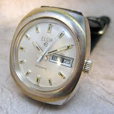 vintage elgin 17 jewel swiss made wrist watch automatic 🔎zoom