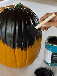 Small Pumpkin Painting How To Make Black Cat Pumpkins Hgtv