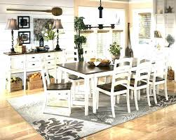 rug under dining room table pictures of rugs tables ideas should you put a