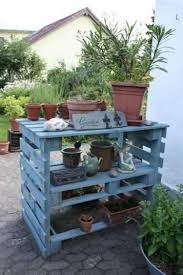 Potting Bench Plans Pallet Wood Potting Bench Plans Recycled Things