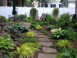Texas Shade Garden Design Landscaping Area Lawnless Front Yard Landscaping Ideas Details
