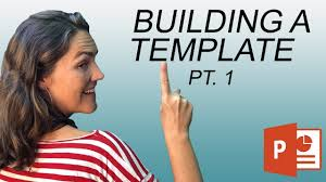 How To Create A Powerpoint Template Make Your Own Slide Background 1 Of 3