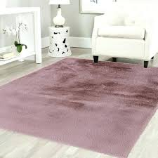 soft faux fur dusty pink rug fluffy