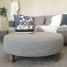 unusual fabric ottoman coffee table