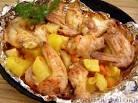 Картофель с куриными крылышками в духовке