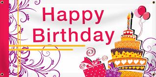 happy birthday customized banners birthday banners design a custom birthday banner today
