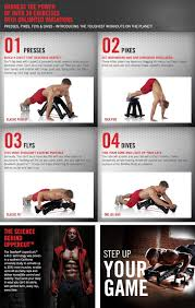 Bowflex Uppercut Workout Chart Bowflex Uppercut Push Up Stand