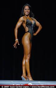 Priscilla Shaw - onepiece - 2007 IFBB Colorado Pro - AM Classic