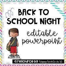 Teacher Powerpoint Meet The Teacher Back To School Night Editable Powerpoint Rainbow