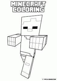 Download Or Print This Amazing Coloring Page Minecraft Coloring