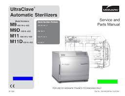 M9 D M11 D Sterilizer Autoclave Solutions Manualzz Com