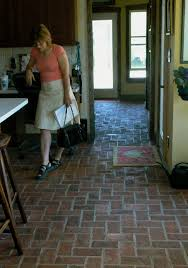 Brick Floor In Kitchen Kitchen Brick Flooring News From Inglenook Tile Julie Looks At