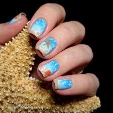 Digit-al Dozen DOES Summer - Starfish & Sand Dollars ~ Ocean Nail ...