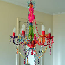 chandelier interesting colored chandeliers marvellous colored