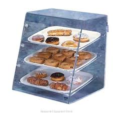 vollrath sbc display case pastry countertop clear