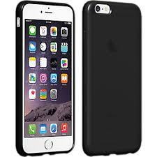 apple iphone 6 black. verizon high gloss silicone case for iphone 6 plus/6s plus - black apple iphone