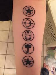 I Got A Marvel Tattoo On Marvels 10th Anniversary Without Knowing