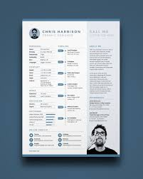 Illustrator Resume Template 25 More Free Resume Templates To Help You Land  The Job Printable