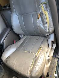 driver bottom leather seat cover tan