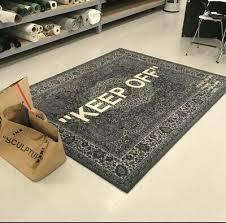 ikea x virgil abloh off white keep off 2019 rug