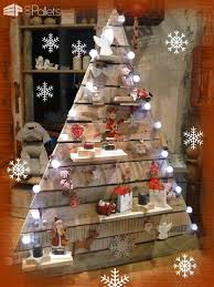 pallet christmas tree with lights. 40 pallet christmas trees \u0026 holiday decorations ideas fun crafts for kids tree with lights i