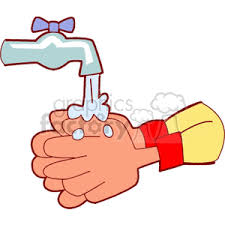 washing hands clipart
