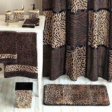 zebra print bathroom set outdoor animal shower curtain astounding design rug leopard bath prin
