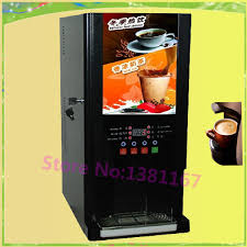 Cheap Coffee Vending Machine Simple Free Shipping Automatic Electric Instant Coffee Vending Machine Coin