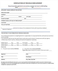 Employment Verification Templates Human Resources Employment Verification Sample Letter