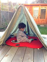 How To Make A Tent 2 Littlefaces Diy Clothes Horse Play Tent
