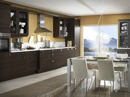 Brown Kitchens Designs Black And White And Brown Kitchen Design Enchanting Home Design