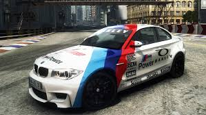 BMW 5 Series 1 series bmw coupe m sport : Like a Safety Car of MotoGP Livery for BMW 1 Series M Coupe ...