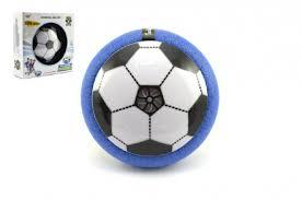Air Disk Fotbalový Míč Vznášející Se Plast 14cm Na Baterie Se