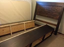 perefct diy bed frame with storage