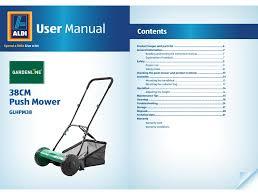 gardenline glhpm38 user manual pdf