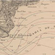 The Part Of The City Cascais Of The Nautical Chart Adapted