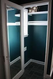 Russet Street Reno: Coat closet painted
