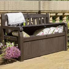 decor of patio deck box jeco black wicker furniture storage