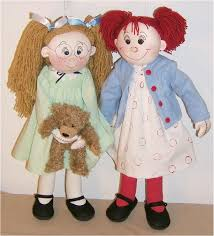 Cloth Doll Patterns Gorgeous Violet Pickles And Ruby Buttons Cloth Rag Doll Pattern By Judi Ward