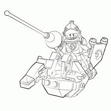 Axl Coloring Pages Leuk Voor Kids Lego Nexo Knights Ridder