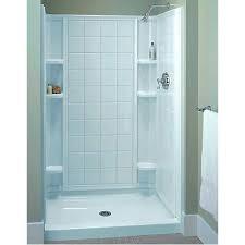 32x36 shower stall sterling 4 piece shower stalls bathroom shower one piece fiberglass shower