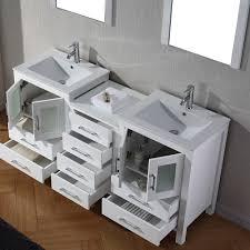 66 inch bathroom vanity. Virtu USA Dior 66 Inch Double Sink Vanity Set In White - Free Shipping Today Overstock 16129149 Bathroom V