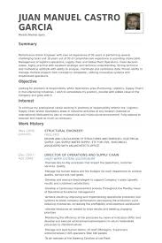 ... Collection of Solutions Sample Resume For Structural Engineer Also  Proposal ...