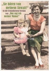 Lustige Sprüche Postkarte Das Sag Ich Meiner Mama Grusskartenshopde