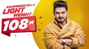 Light Weight Official Video Kulwinder Billa Mixsingh