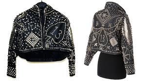kelly lebrock s studded leather jacket from weird science is for